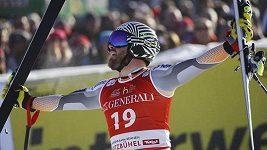 Nor Jansrud vyhrál Super-G v Kitzbühelu