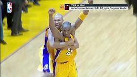 Nejlepší okamžiky kariéry tragicky zesnulého Kobeho Bryanta