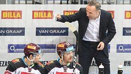 Mně se to hrozně líbilo, hráči chtěli, dřeli, chválil Spartu její nový trenér Miloslav Hořava