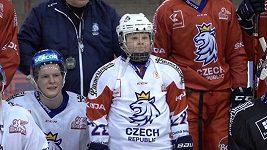 Malý hokejista překonal leukémii, vrátil se na led a oblékl dres národního týmu