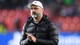 Dohoda je blízko. Slavia vyjednává s trenérem Jindřichem Trpišovským o prodloužení kontraktu