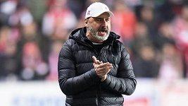 Naše hra se po odchodu Součka změní, musíme ho nahrazovat jako tým, říká trenér Slavie Jindřich Trpišovský