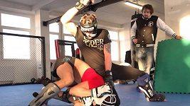 Když dostanete naloženo. Tvrdá příprava Davida Dvořáka na UFC. Soupeř se má nač těšit!