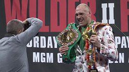 Tyson Fury, nový boxerský král organizace WBC
