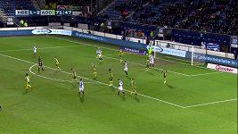 Fotbalistovi se povedl nezvyklý zásah.