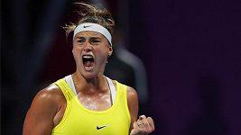 Kvitová ve finále v Dauhá prohrála se Sabalenkovou