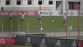 Fotbalisté Bayernu Mnichov se vrátili k tréninku.