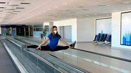 Jaké cviky na protažení zad doporučuje gymnastka Aneta Holasová?