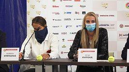 Petra Kvitová a Barbora Strýcová se těší na návrat na kurty