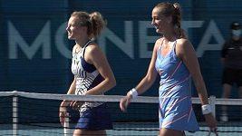 Petra Kvitová porazila Kateřinu Siniakovou a je ve finále
