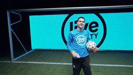 Gólman Liberce Filip Nguyen se proti penaltovému stroji blýskl skvělými zákroky