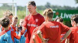 Dostal jsem od Petra Čecha úkol být na děti hodnej, řekl Jaroslav Šilhavý. Koho nominuje do zářijových zápasů?