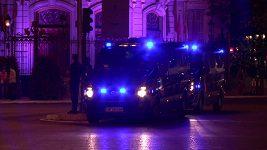 Fanoušci Realu si užívali zisk titulu, na oslavy dohlížela policie