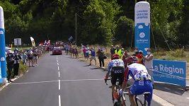 Slovinský cyklista Primož Roglič vyhrál druhou etapu závodu Critérium du Dauphiné