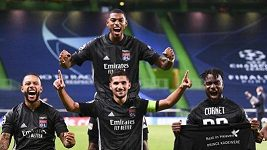 Sestřih utkání čtvrtfinále Ligy mistrů Lyon - Manchester City.