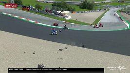 Valentino Rossi měl neskutečné štěstí. Děsivá srážka byla blízko