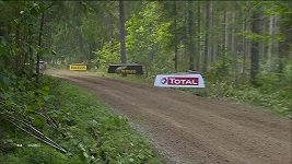 Tänak vyhrál první etapu Estonské rallye