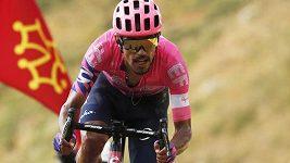 Kolumbijský cyklista Daniel Martínez vyhrál 13. horskou etapu Tour de France.