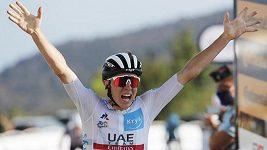 Patnáctou etapu Tour de France vyhrál Tadej Pogačar