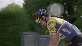 Primož Roglič se těší na poslední týden Tour
