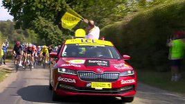 Němec Kämna vyhrál 16. etapu Tour de France