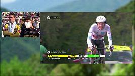 Tadej Pogačar na Tour de France senzačně získal žlutý trikot