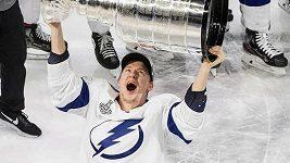 Co prozradil Ondřej Palát o oslavách zisku Stanley Cupu? Něco bláznivého tam proběhlo...