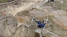 Downhillové mistrovství světa se letos konalo v extrémních podmínkách