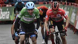 Třetí etapu Vuelty vyhrál Martin
