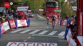 Pátou etapu Vuelty vyhrál Tim Wellens
