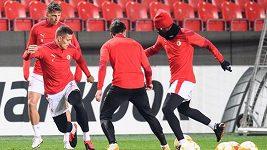 Slávisté před zápasem s Leverkusenem pitvali chyby z Izraele. Teď je čeká ještě kvalitnější soupeř
