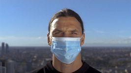 Ibrahimovic se zapojil do kampaně na boj proti pandemii