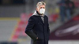 Silný soupeř, nervozita až do konce, přiznal trenér Jaroslav Šilhavý. Teď ho čeká derby