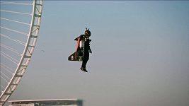 Raketový muž Reffet zahynul během tréninku v Dubaji