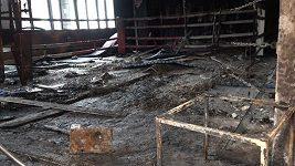 Kutil gym zničil požár. Boxernu znovu vybudujeme, na stávající adrese, slibuje majitel