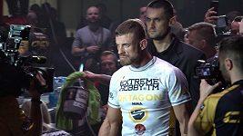 Dočkali se! Ondřej Raška a Pavel Salčák na akci Oktagon 19 v Brně