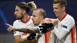 Lipsko po výhře nad Manchesterem United v LM postupuje do osmifinále