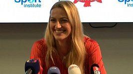 Z Petry Kvitové je studentka. Tenis jí ale pořád baví