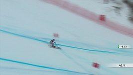 Ester Ledecká vyhrála super-G ve Val d´Isere