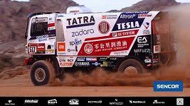 Buggyra během prologu na Rallye Dakar