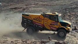Martin Macík během 3. etapy Rallye Dakar