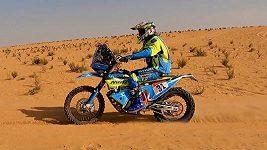 Martin Michek si 6. etapu Dakaru užil. Co ho nadchlo? A proč dostal penalizaci?
