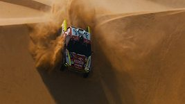 Martin Prokop v 8. etapě Rallye Dakar