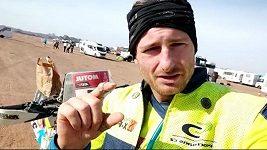 Martin Michek hodnotí 10. etapu Dakaru. V průběžném pořadí se udržel na 13. místě
