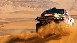 Martin Prokop v 10. etapě Rallye Dakar