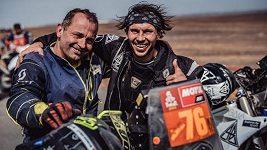 Libor Podmol děkuje kámošovi v nouzi. Dakar dokončil díky pomoci od Romana Krejčího