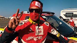 Martin Prokop v cíli Rallye Dakar 2021