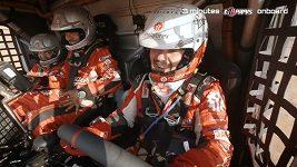 Onboard video z kabiny Aleše Lopraise před startem 6. etapy