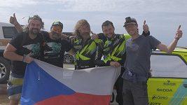 Ani když odešla převodovka, nebyl to pro Ondřeje Klymčiwa na Dakaru špatný den. Proč?