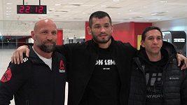 Makal, když ostatní spí. Mach Muradov trénoval na vítězný zápas v UFC ve tři hodiny v noci
